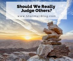 Should We Judge Others